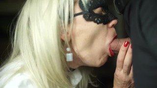 Sexy Secretary Sucks Big Cock of Her Boss & Swallowed Sperm