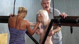 Blondie Slave in Bdsm Action