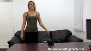 Fit Babe Assfucked N Creampie on Casting Sofa