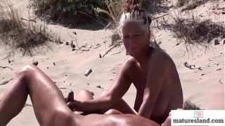 Horny Mature Nudists – Observe More on