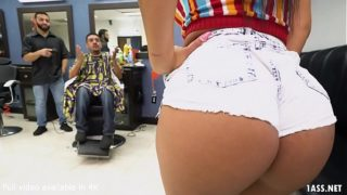 Booty Latina Wife Fucks the Barber – Rose Monroe