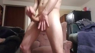 Solo Sunday Part 2 Monster Dick Cumshot!